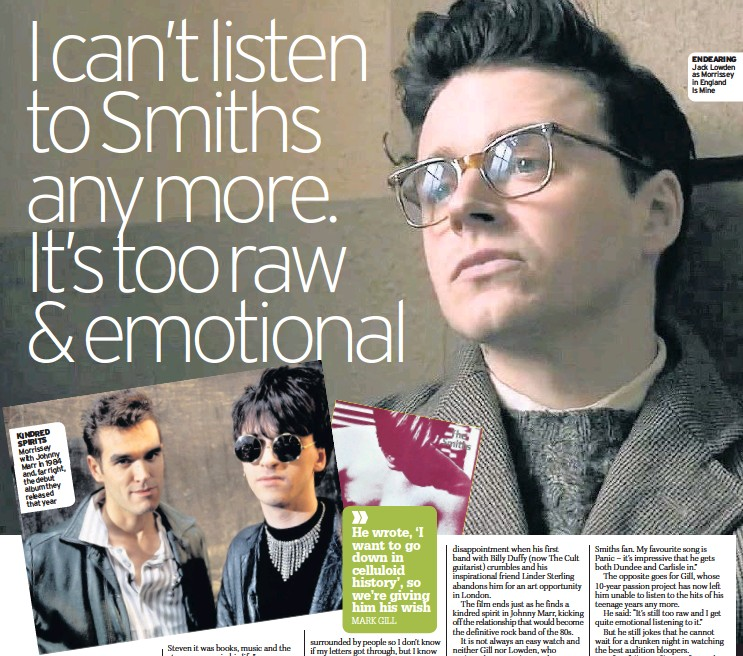 Johnny Marr And Morrissey Relationship