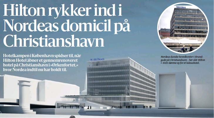 PressReader - Berlingske Tidende: 2018-03-08 - HILTON INDTAGER ØRKENFORTET