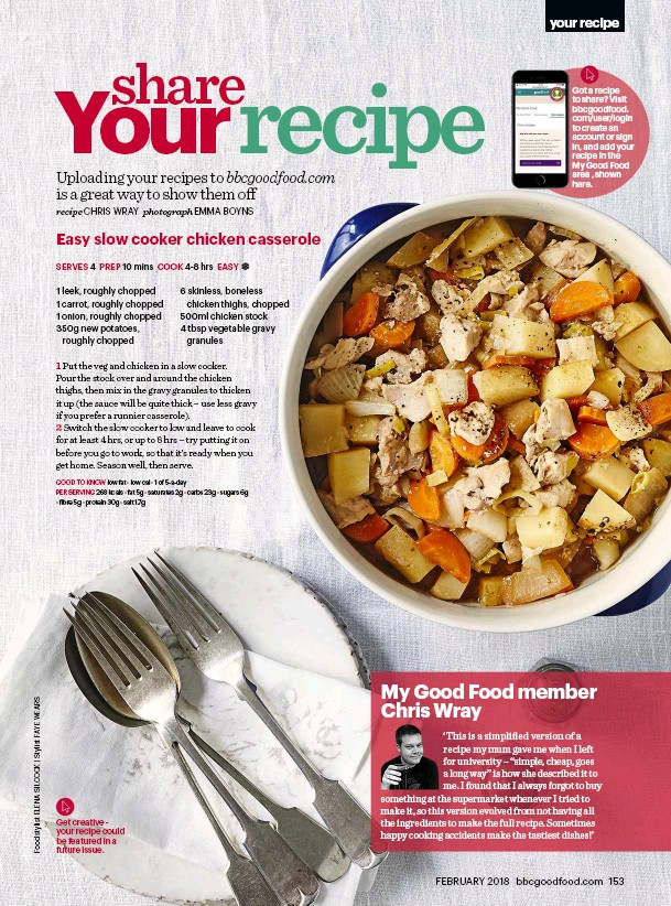Pressreader bbc good food 2018 02 01 reader recipe get creative your recipe could be featured in a future issue forumfinder Images