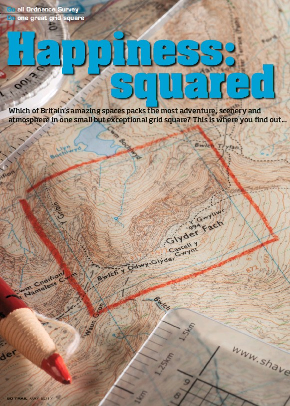 Pressreader trail uk 2017 04 20 happiness squared if you had one day left on earth youd spend it there so here weve identified seven grid squares where map and mountain met and made an accidentally gumiabroncs Choice Image