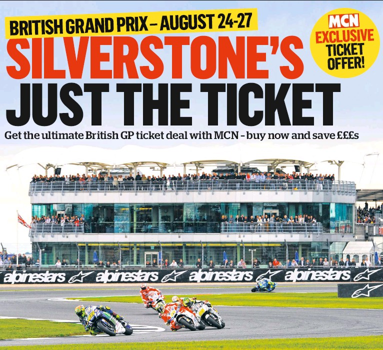 PressReader - Motorcycle News (UK): 2017-08-02 - SILVERSTONE\'S JUST ...