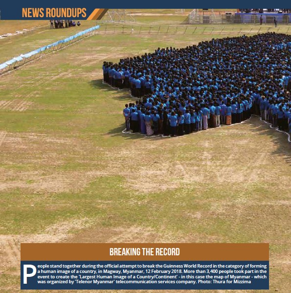 Pressreader mizzima business weekly 2018 02 22 breaking the record photo thura for mizzima gumiabroncs Choice Image