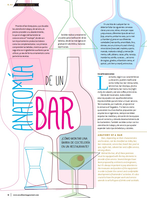 PressReader - Excelencias Gourmet: 2016-10-01 - Anatomia de un BAR
