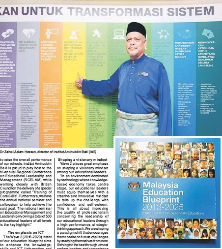 Pressreader the borneo post sabah 2016 08 12 wave 2 education dr zainal aalam hassan director of institut aminuddin baki iab the malaysia education blueprint 2013 2025 aspires to create a conducive learning and malvernweather Image collections