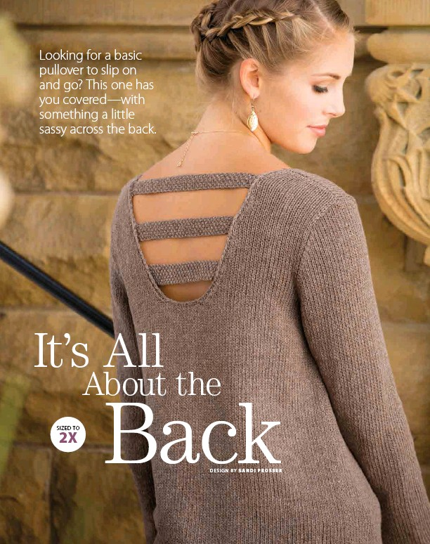 Pressreader Creative Knitting 2017 03 01 Its All About The Back