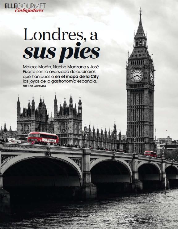 PressReader - ELLE Gourmet: 2017-09-29 - ESPAÑOLES EN LONDRES