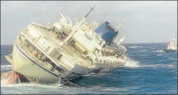 PressReader The Herald South Africa Heroic - Sinking cruise ship oceanos