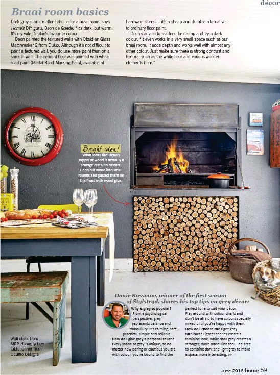 Pressreader Home South Africa 2016 06 01 Braai Room