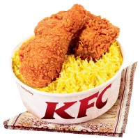 The New Rice Meals From KFC Arabia Is Ultimate Pleasure As It Combines KFCs Secret Recipe That Was Introduced Since 1973 With Premium Basmati