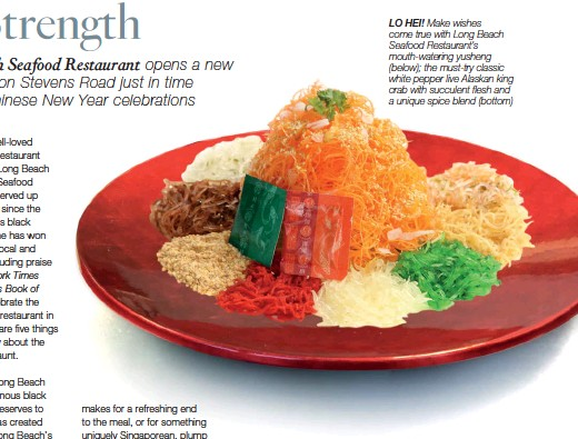 Pressreader singapore tatler 2018 02 01 from strength to strength the new york times courvoisiers book of the best lo hei make wishes come true with long beach seafood restaurants mouth watering yusheng below the forumfinder Image collections