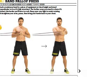 PressReader - Men's Fitness: 2015-09-01 - BAND PALLOF PRESS