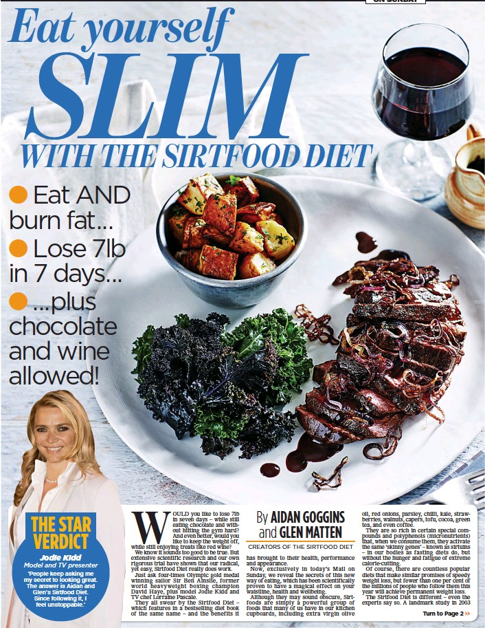 Pressreader the mail on sunday 2016 02 21 eat slim yourself recipes taken from the sirtfood diet by aidan goggins and glen matten available now published by yellow kite 799 forumfinder Image collections