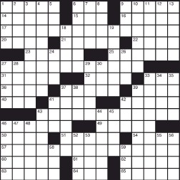 Rental Car Agency Crossword