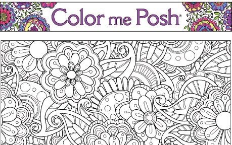 CONTRIBUTED BY POSH COLORING BOOKS