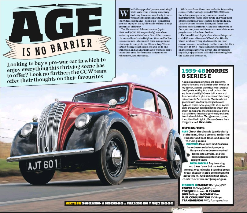 PressReader - Classic Car Weekly (UK): 2017-10-11 - AGE IS NO BARRIER