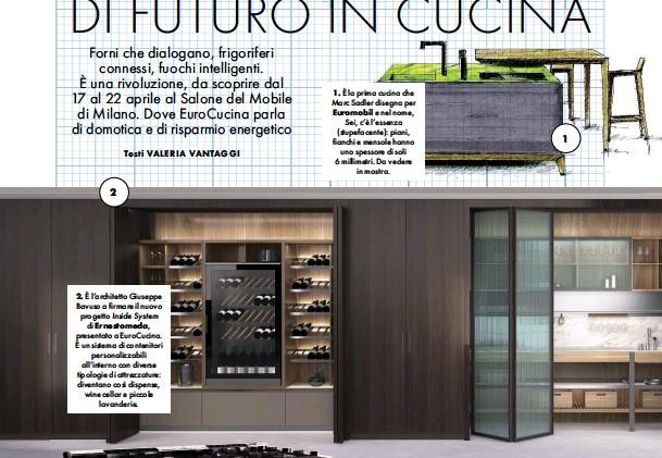 PressReader - La Cucina Italiana: 2018-04-01 - 19 IDEE DI FUTURO IN ...