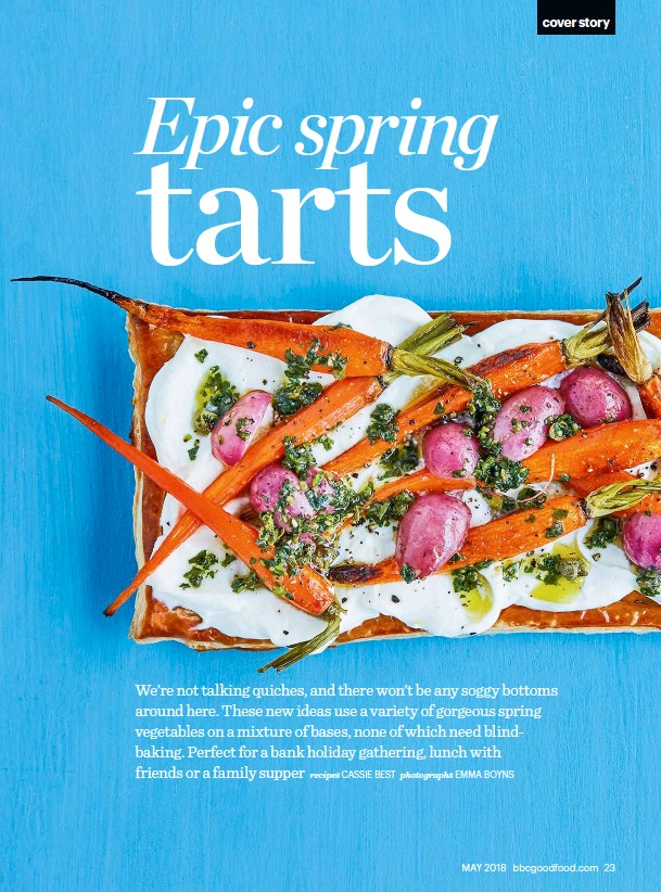 Pressreader bbc good food 2018 04 26 make our cover recipes use just the egg yolk to glaze for a glossier finish forumfinder Gallery