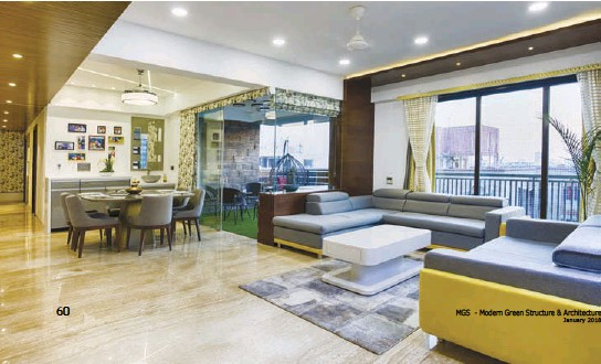 The Colour Scheme Was Derived As Per The Principles Of Vastu Shashtra And Keeping The Decor Minimal We Have Opted For Salient Gestures To Convey The