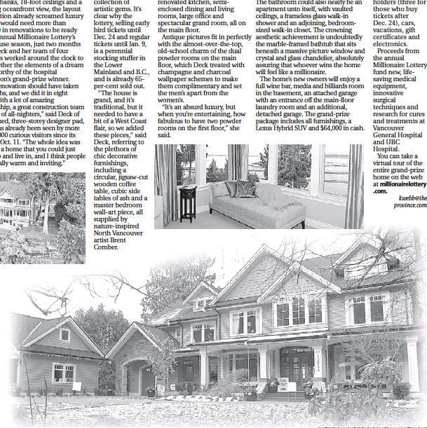 PressReader - The Province: 2008-12-21 - A dream you can walk into