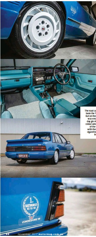 Pressreader motor australia 2017 10 05 family affair the road car might have been the blue meanie but on the track the vk was very much red day glo red the iconic colour adorned the last of the big malvernweather Images