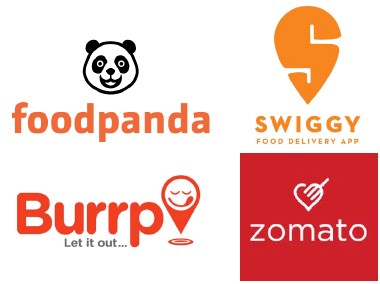 Image result for swiggy food panda zomato