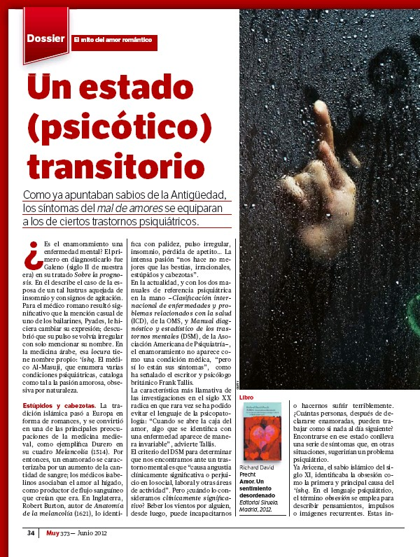 PressReader - Muy Interesante: 2012-05-25 - Un estado (psicótico ...