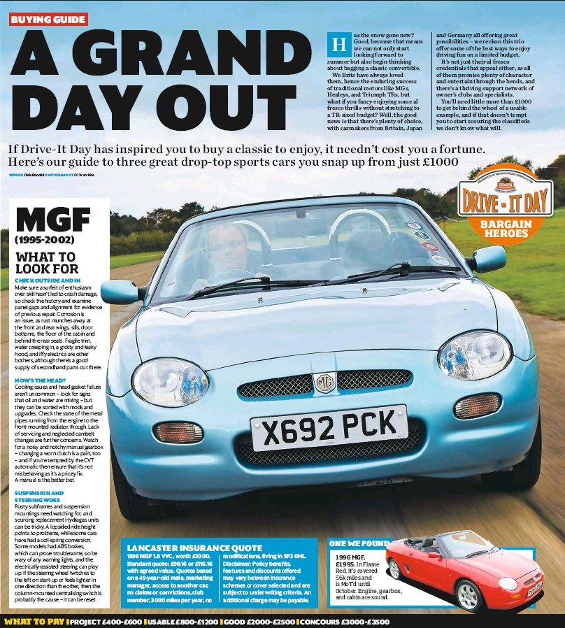 PressReader - Classic Car Weekly (UK): 2018-04-25 - Buying Guide