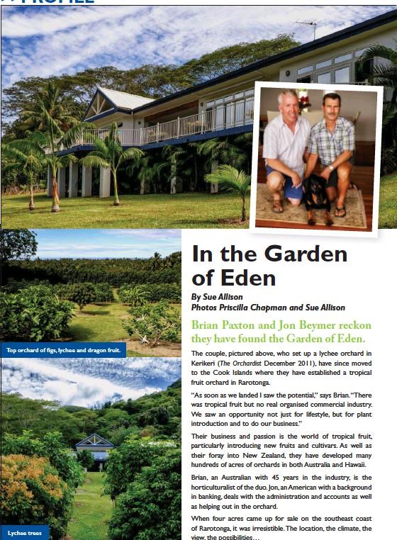 Pressreader The Orchardist 2015 03 01 In The Gar Den Of Eden