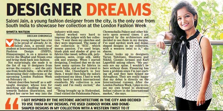 pressreader - deccan chronicle: 2017-02-08 - designer dreams