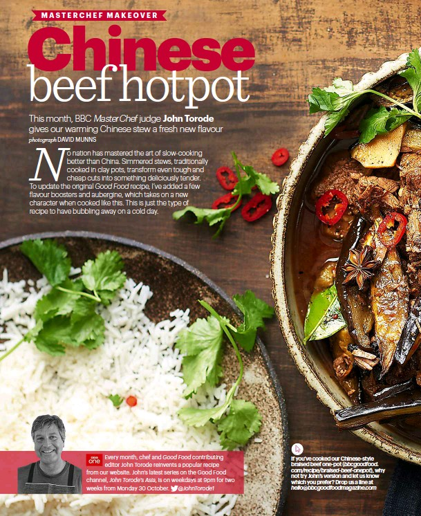 Pressreader bbc good food 2017 09 28 masterchef makeover john recipe from our website johns latest series on the good food channel john torodes asia is on weekdays at 9pm for two weeks from monday 30 october forumfinder Choice Image