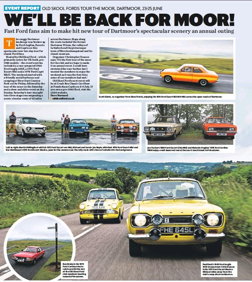 PressReader - Classic Car Weekly (UK): 2017-07-05 - Old Skool Fords ...