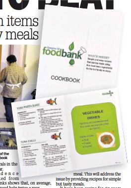 Pressreader daily record 2018 04 25 food bank cook book no sweat pamela demonstrates how to make one of the easy dishes insets excerpts from the students cookbook forumfinder Gallery