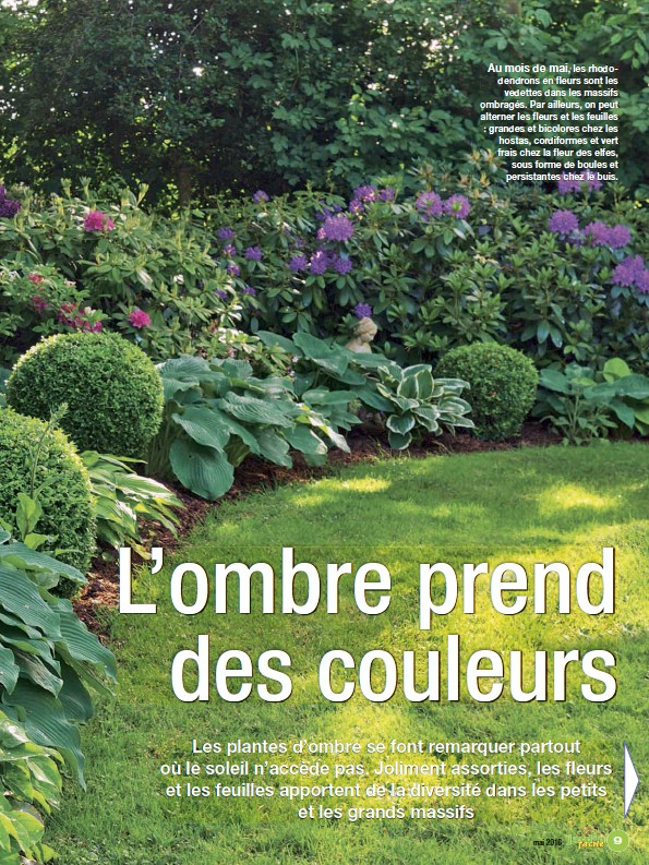 PressReader - Jardin Facile: 2016-04-12 - Jardin à l\'ombre Comment ...