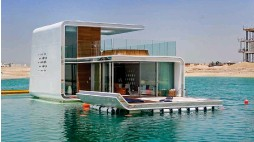 Pressreader khaleej times 2016 04 29 aquar ium nay it s my bed room - The floating homes of dubai luxury redefined ...