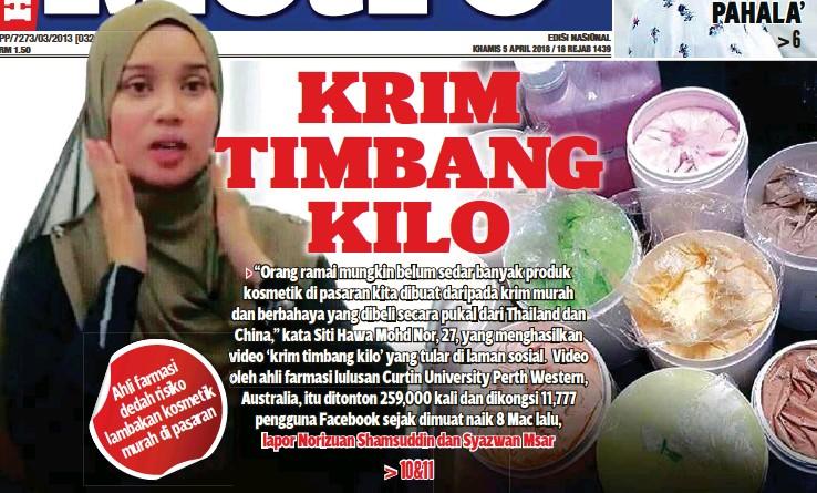 Image result for krim timbang kilo jpeg