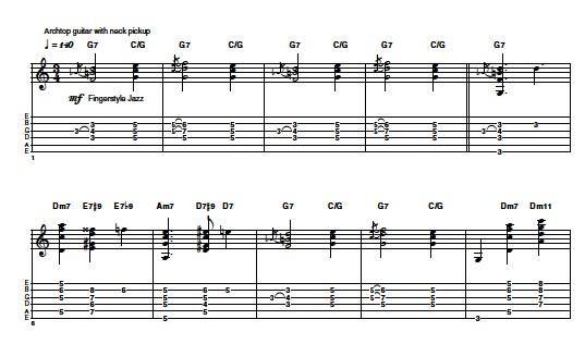 PressReader - Guitar Techniques: 2014-02-21 - Example 6 Joe Pass ...