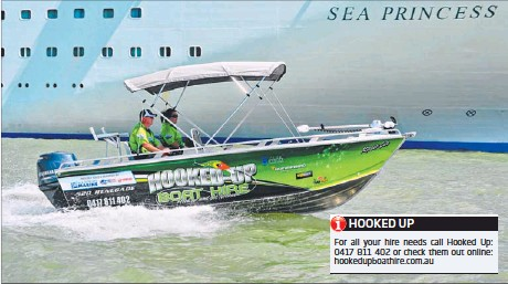 hook up boat hire
