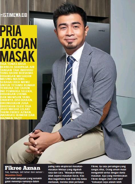 Pressreader Glam Lelaki Malaysia 2016 06 01 Fikree Aznan