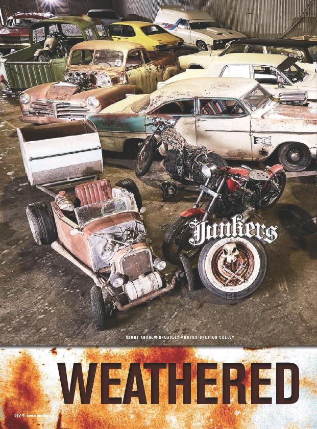 PressReader - Street Machine: 2016-08-01 - JUNKERS CAR CLUB
