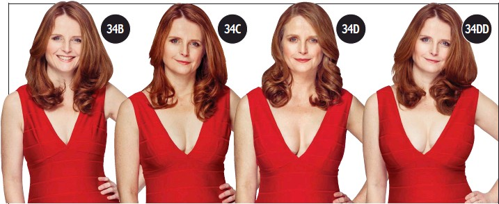 PressReader - Scottish Daily Mail: 2015-04-09 - The bra ... C Cup Breast Vs D Cup Breast