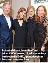 Robert Redford Son