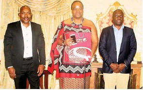 Pressreader observer on saturday 2017 05 20 king makes swazi presenting the king were swazi mobile codirectors victor gamedze and mitchelo shabangu more stories in the sunday observer tomorrrow stopboris Gallery
