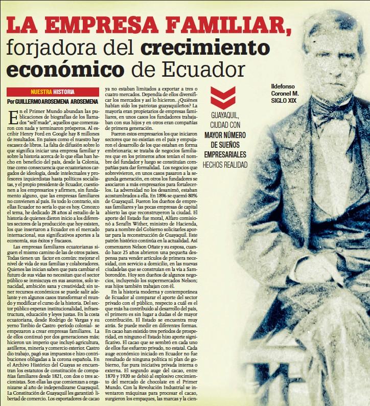 "Résultat de recherche d'images pour ""Ecuador siglo 19 ""empresarios""  ,"""