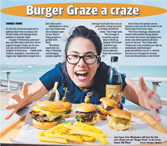 PressReader - NT News: 2016-11-05 - Burger Graze a craze