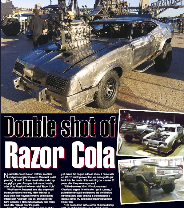 pressreader australian muscle car 2015 08 01 dou ble shot of ra zor cola. Black Bedroom Furniture Sets. Home Design Ideas
