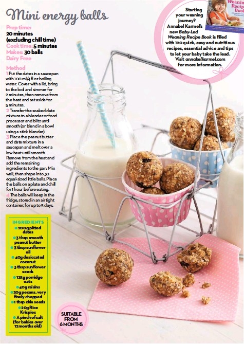 Pressreader mother baby uk 2017 09 01 mini energy balls annabel karmels new baby led weaning recipe book is filled with 120 quick easy and nutritious recipes essential advice and tips to let your baby take the forumfinder Image collections
