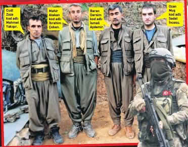 PKK'nın Karadeniz timi ile ilgili görsel sonucu