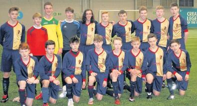 Match winners East Kilbride FC s 2001 Blues team who claimed victory over  the SYFA squad 60d2fae64