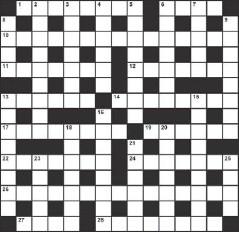 coven member crossword clue