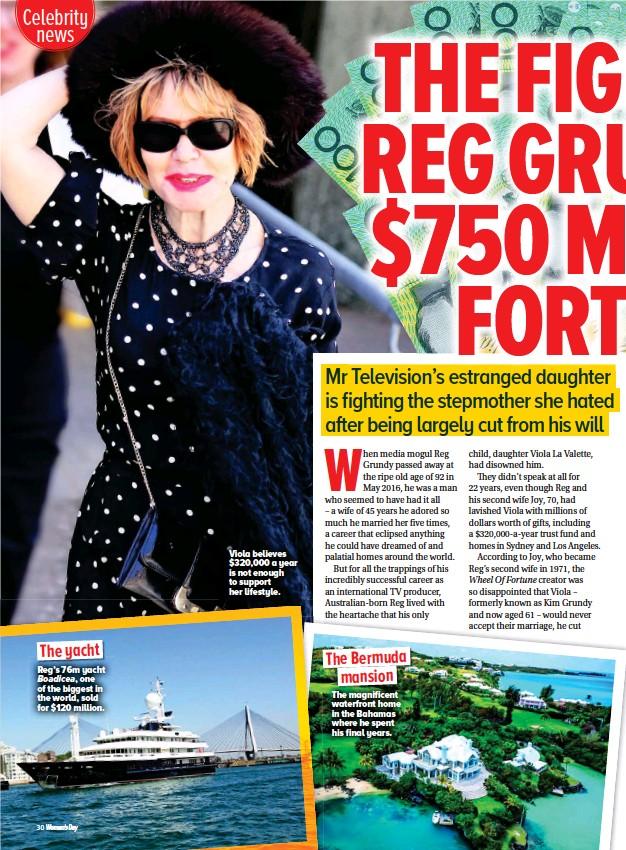 PressReader - Woman's Day (Australia): 2017-10-30 - Reg Grundy Money battle